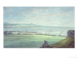 Leith, with Kirkaldy on the Coast of Fifeshire Giclee Print by John White Abbott