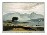 Isle of Arran, Ardrossan Giclee Print by Thomas & William Daniell
