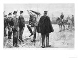 The Degradation of Captain Alfred Dreyfus Giclee Print by Frederic De Haenen