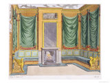 Room Design, George Smith, from Magazin Des Luxus, Paris and Leipzig Vol Iv, 19th Century Giclee Print by George Smith