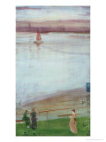 Variations in Violet and Green, 1871 Giclee Print by James Abbott McNeill Whistler