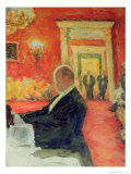 Portrait of Sergei Prokofiev at Work, 1937 Giclee Print by Leonid Osipovic Pasternak