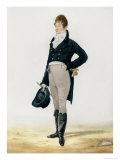 Portrait of George Beau Brummell Giclee Print by Robert Dighton