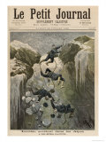 Terrible Accident in the Alps, from Le Petit Journal, 23rd July 1892 Giclee Print by Henri Meyer