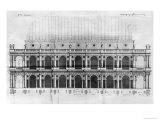 Basilica Palladiana at Vicenza, Designed by Andrea Palladio Giclee Print