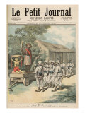 Kana Fetishes in Dahomey, from Le Petit Journal, 26th November 1892 Giclee Print by Fortune Louis Meaulle