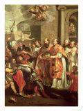 St. Bernard of Clairvaux Giclee Print by Marten Pepyn