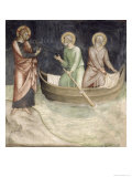 The Calling of St. Peter, from a Series of Scenes of the New Testament Giclee Print by Barna Da Siena