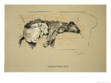 Gravitation, 1930, 1st Edition of Sleeping Partners Giclee Print by Cecil Aldin