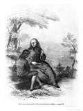 Illustration from L'Emile by Jean-Jacques Rousseau Giclee Print by Pierre Gustave Eugene Staal