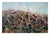 Custer&#39;s Last Stand, 25th June 1876 Giclee Print by Edgar Samuel Paxson