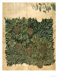 Design For Vine Wallpaper, c.1872 Giclee Print by William Morris