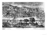 The Taking of Heidelberg on 22th May 1693 Giclee Print by Pierre Aveline