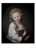 Esprit de Baculard D'Arnaud, 1776 Giclee Print by Jean-Baptiste Greuze