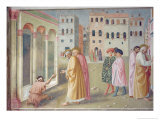 St. Peter Healing a Cripple, c.1427 Giclee Print by Tommaso Masolino Da Panicale