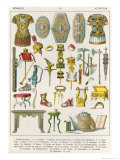 Roman Accessories, from Trachten Der Voelker, 1864 Giclee Print by Albert Kretschmer