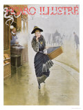 Young Parisian Hatmaker, Cover Illustration of 'Figaro Illustre', February 1892 Giclee Print by Jean Béraud