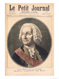 Portrait of Joseph Francis Dupleix Giclee Print by Fortune Louis Meaulle