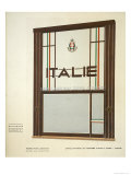 Office National de Tourisme Italien a Paris, Paris, Late 1920 Giclee Print by Pierre Petit