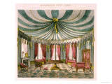 Octangular Tent Room, Cabinet Maker's and Upholsterer's Guide, Pub Jones and Co, Smith, George Giclee Print by George Smith