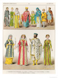 Christian Roman Dress, from Trachten Der Voelker, 1864 Giclee Print by Albert Kretschmer