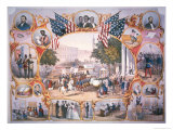 The 15th Amendment, Granting Voting Rights to All Citizens of the USA on 19th May, 1870, Giclee Print