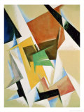 Compostion, 1921 Giclee Print by Liubov Sergeevna Popova