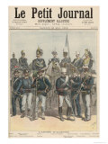 The Italian Army, from Le Petit Journal, 28th May 1892 Giclee Print by Henri Meyer