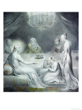 Christ in the House of Martha and Mary or the Penitent Magdalen Giclee Print by William Blake
