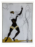 Le Pavillion DArmider from the Series Designs on the Dances of Vaslav Nijinsky Giclee Print by Georges Barbier