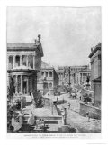 The Roman Forum of Antiquity, 1914 Giclee Print by Theodor Josef Hubert Hoffbauer