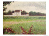 Landscape in the Ile-De-France, 1881-82 Giclee Print by Georges Seurat