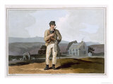 The Moor Guide, Engraved by Robert Havell the Elder, Published 1814 by Robinson and Son, Leeds Giclee Print by George Walker
