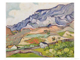 The Alpilles, 1890 Giclee Print by Vincent van Gogh