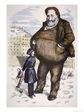 Cartoon Featuring William Marcy Boss Tweed Giclee Print by Thomas Nast