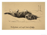 Rough Daschund Puppy Detail, 1930, IllJust Among Friends, Aldin, Cecil Charles Windsor Giclee Print by Cecil Aldin
