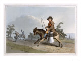 The Milk Boy, Engraved by Robert Havell the Elder, Published 1814 by Robinson and Son, Leeds Giclee Print by George Walker