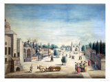 The Sultan's Palace, Constantinople Giclee Print by J. Payne