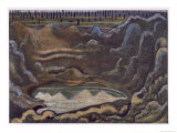 The Caterpillar Crater, British Artists at the Front, Continuation of the Western Front, Nash, 1918 Giclee Print by Paul Nash