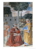 Episodes from the Life of St. Augustine, 1463-65 Giclee Print by Benozzo di Lese di Sandro Gozzoli