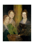 Portrait of the Bronte Sisters, C.1834 Giclee Print by Patrick Branwell Bronte
