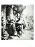 The Ratcatcher, 1632 Giclee Print by  Rembrandt van Rijn