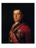 The Duke of Wellington Giclee Print by Francisco de Goya