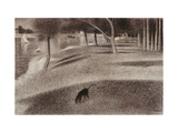 Study For Sunday Afternoon on the Island of La Grande Jatte, c.1884 Giclee Print by Georges Seurat