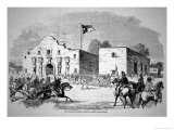 The Alamo Fort at San Antonio, Headquarters of Federal General Twiggs Giclee Print