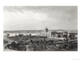 Calcutta, Engraved by R.Dawson After a Photograph by Francis Frith Giclee Print by Francis Frith