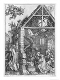 The Nativity, from the Life of the Virgin Series, c.1503 Giclee Print by Albrecht Dürer