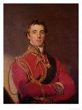 Portræt af Arthur Wellesley Giclée-tryk af Thomas Lawrence