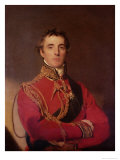 Portrait of Arthur Wellesley Giclee Print by Thomas Lawrence