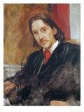 Portrait of Robert Louis Stevenson Giclee Print by William Blake Richmond